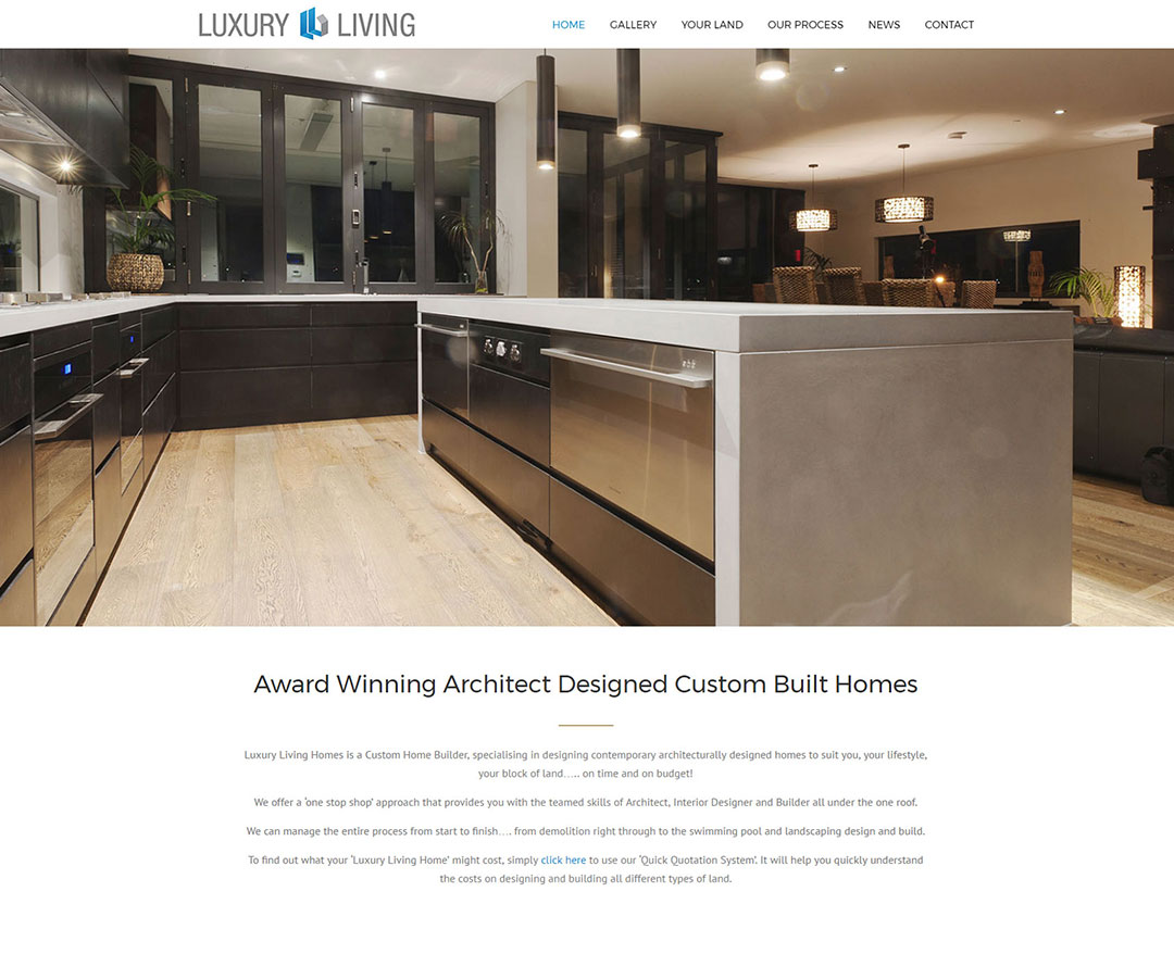 Luxury Living Homes